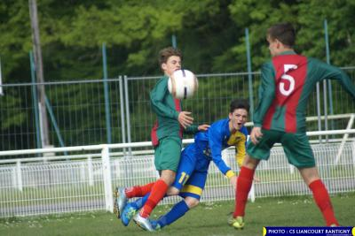 U15 : Chantilly (b) 1-1 Liancourt