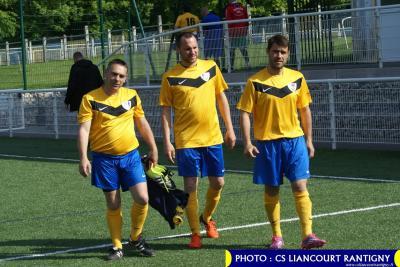 Vétérans : Liancourt 3-0 Villers St Paul